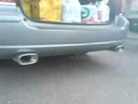 toyota avensis facelift 2007 executive double exhaust