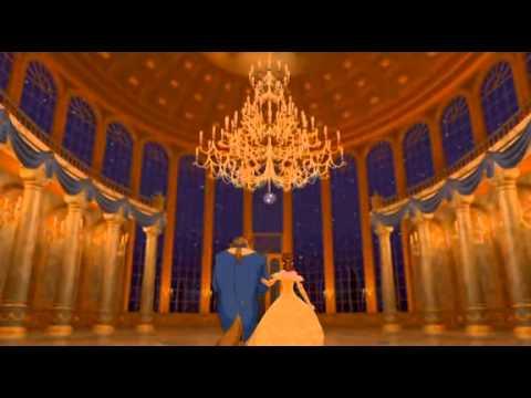 Beauty And The Beast Dancing Scene English Youtube