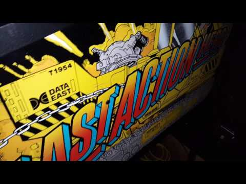 Last Action Hero Pinball Machine LEDs Data East on Location