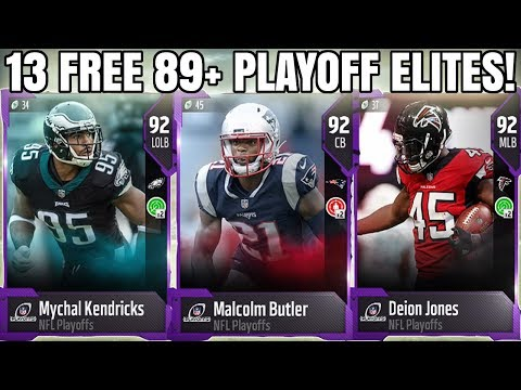 HOW TO GET 13 FREE 89+ PLAYOFF ELITE PLAYERS! FREE PLAYOFF ELITES!   MADDEN 18 ULTIMATE TEAM