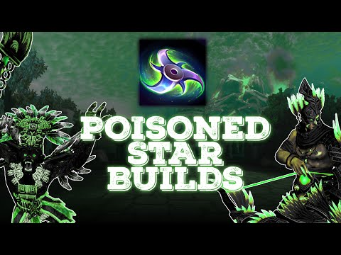 SMITE: POISONED STAR OP?! Who Should Build It? | New Hunter Build!