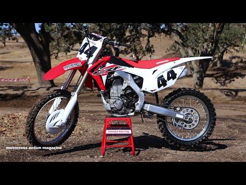 First Ride 2015 Honda CRF450 Motocross Action Magazine