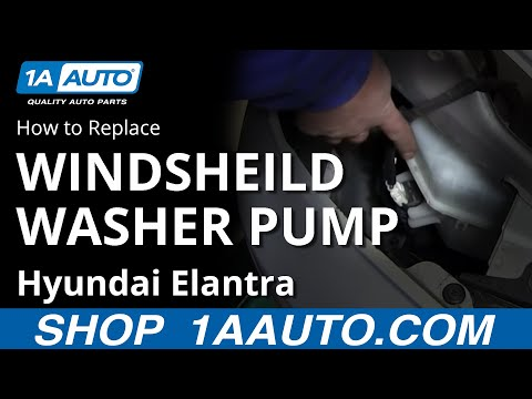 2000 Nissan altima windshield washer pump #4