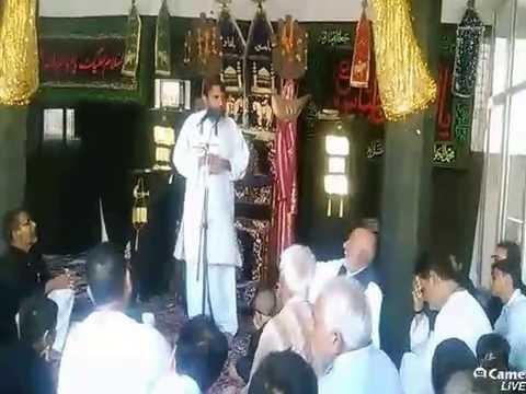 Azadari Channel's broadcast mashriqi imam bargah gopalpur
