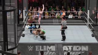 WWE 2K17 CWC Championship Match