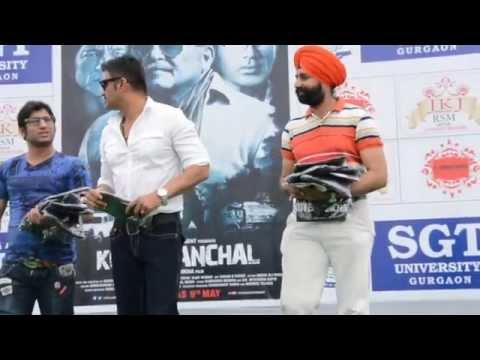 Bollywood Celebrity Sunil Shetty visits SGT University