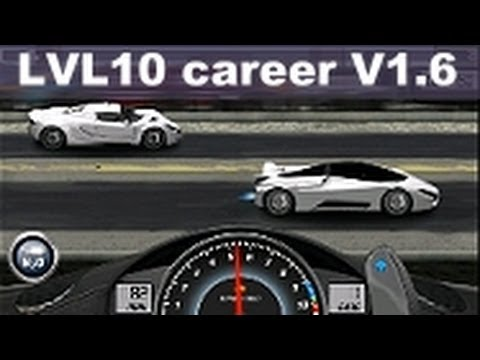 Drag Racing win complete level 10 career SSC Tuatara with 1 tune setup V1.6
