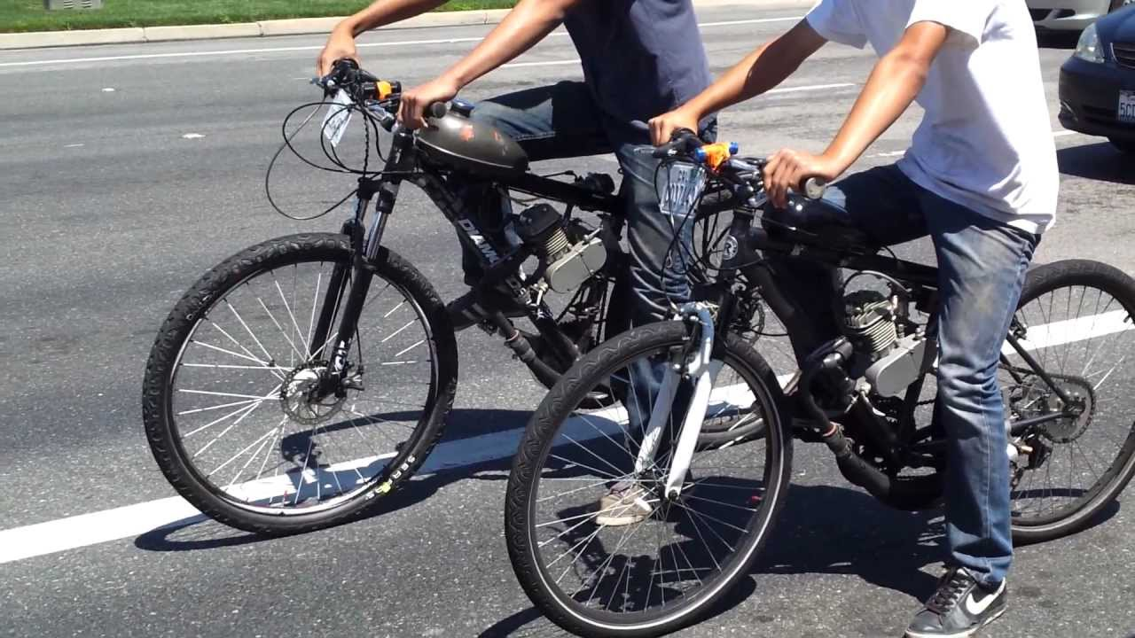Bike Cycles With Motors Motorized Bicycle Racing