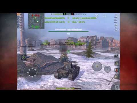 World of Tanks Blitz - Capping on Himmelsdorf
