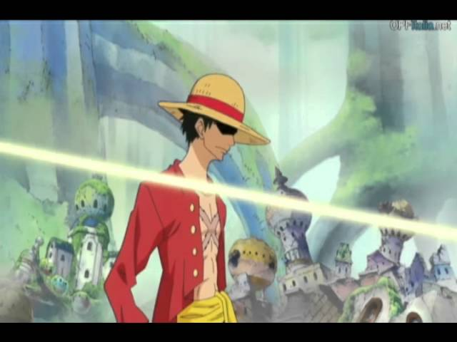 luffy zoro and sanji vs pacifista 2 years later