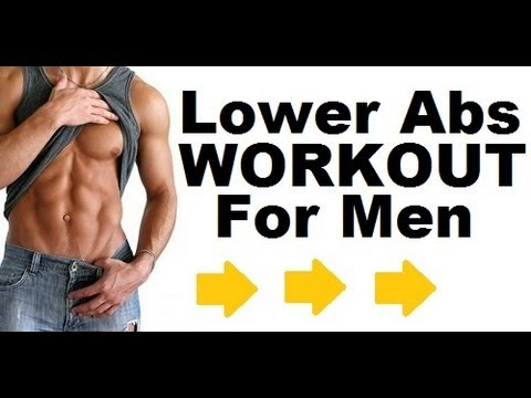 Best lower abs workout for men at home
