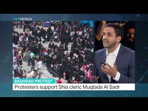 Thousands protest govt corruption in Baghdad, TRT World's Abubakr Al Shamahi weighs in