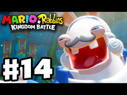 Mario + Rabbids Kingdom Battle - Gameplay Walkthrough Part 14 - Phantom Boss Fight!