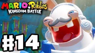 Mario + Rabbids Kingdom Battle - Gameplay Walkthrough Part 14 - Phantom Boss Fight!
