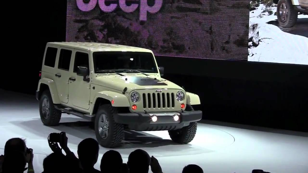 2012 Jeep Wrangler Mojave 4x4 Debuts At New York Auto Show