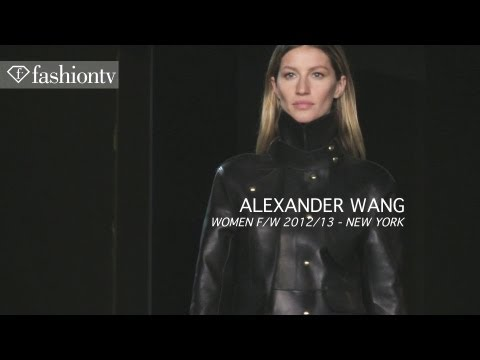 Alexander Wang Fall/Winter 2012/13 ft Gisele Bundchen at New York Fashion Week NYFW | FashionTV FTV