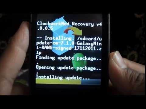 How to install cyanogenmod 7 2 0 Fully Stable version on Samsung Galaxy Mini or Pop GT S5570