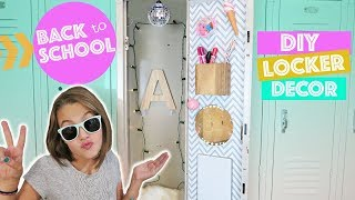 Back To School DIY Locker Decor and Organization | How To DIY Ideas & Hacks Kids Cooking and Crafts