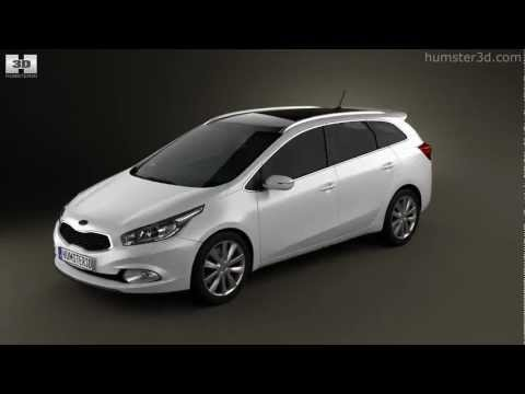 Ceed 2013 on Kia Ceed Sw 2013 By 3d Model Store Humster3d Com