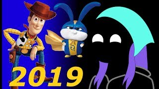 Reacting to 2019 Animated Trailers