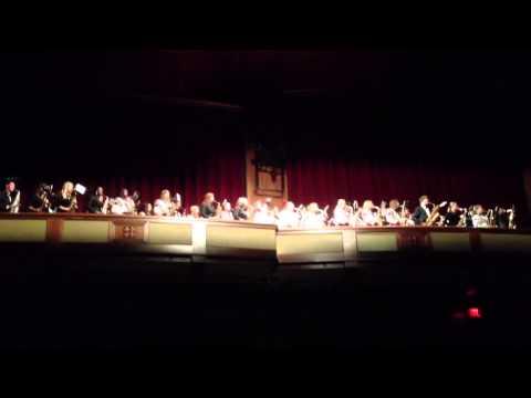 FSU Marching Chiefs Alto Saxophones at Prism Concert 2012
