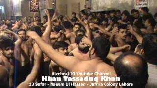 13 Safar Khan Tassadaq Khan 2016 - Jaffria Colony Lahore