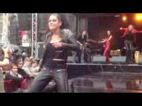 Ruslana live at AntwerpPride / WorldOutGames in Antwerp, Belgium