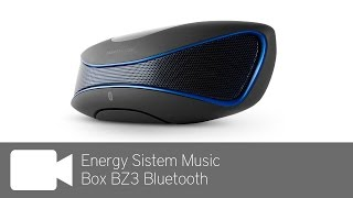 Energy Sistem Music Box BZ3 Bluetooth Review