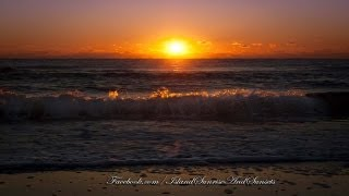 Ocean Sunrise  - Ocean wave sounds and sunrise - sleep therapy