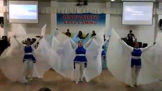 que se abran los cielos Christine D`clario y Marcos Brunet (danza - dance )