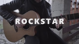 Download Lagu Post Malone - Rockstar ft. 21 Savage - Fingerstyle Guitar Cover Gratis STAFABAND