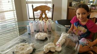 3 COLOR TIE DYE BLIND FOLD CHALLENGE!!   DIY Tie Dye Shirts   Sophie Mostly..