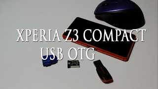 Sony Xperia Z3 Compact USB OTG USB On The Go   jak działa