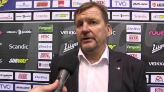 31.01.2017 Lukko vs. Tappara: valmentajan analyysi