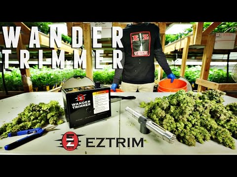 Wander Trimmer by EZTRIM   Only NO DAMAGE Bud Trimmer