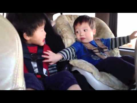 Toddlers Chatting in Car ASL