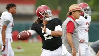 Watch Jalen Hurts throw at Wednesday