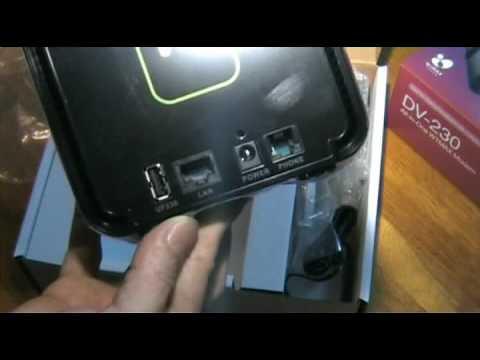P1 WiMAX - DV-230 Desktop Modem ( Unbox )