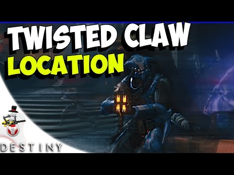 TWISTED CLAWS Location - Moon - The World's Grave Guide - Destiny Bounty Hunt - House Of Wolves