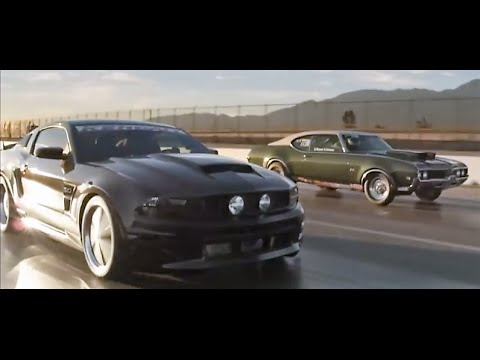 Muscle Cars in Born To Race