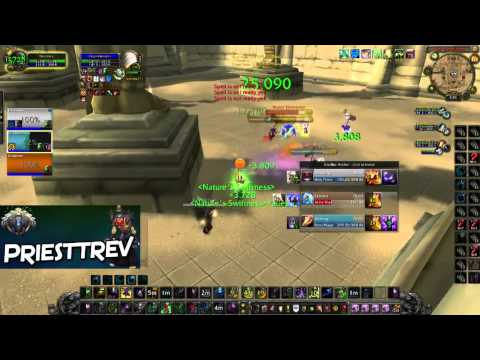 WoW MoP 5.4: Intense Match! God Comp Rdruid PoV Vs WMP