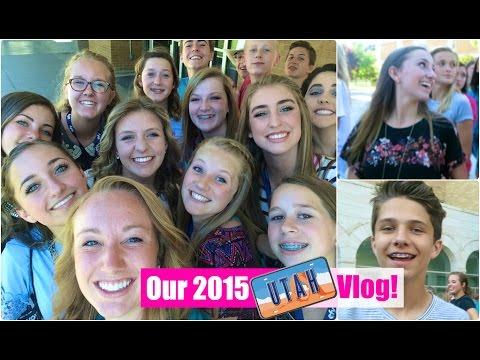 Utah Summer Trip Vlog   Brooklyn and Bailey