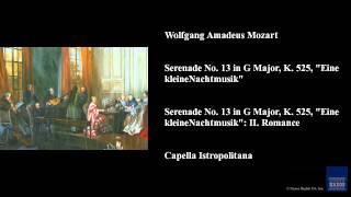 Wolfgang Amadeus Mozart Serenade No 13 In G Major K 525 34 Eine Kleine Nachtmusik 34