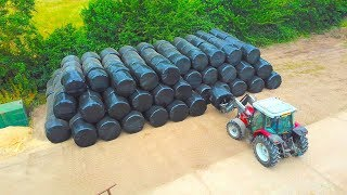 WRAPPING AND STACKING!!!...HOW DO WE WRAP BALES!?