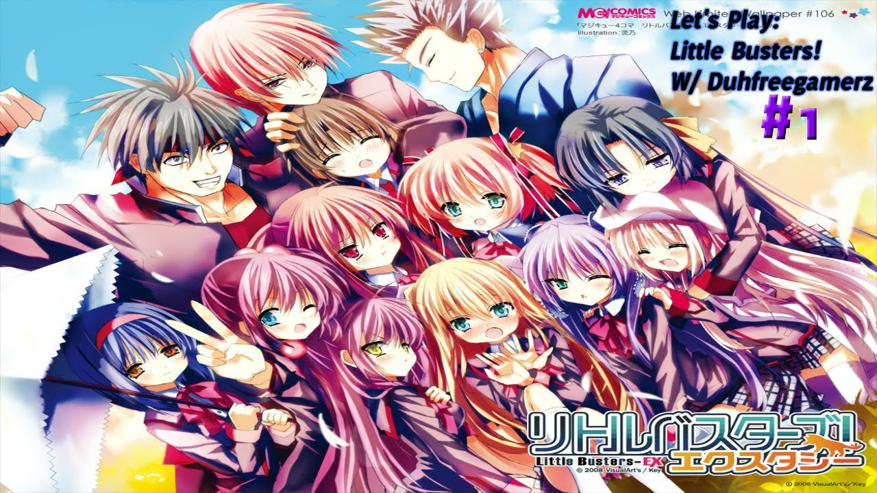 Novel Little Busters