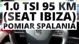 Seat Ibiza 1.0 TSI 95 KM (MT) - pomiar zużycia paliwa