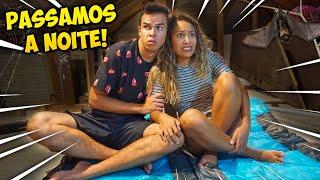 PASSAMOS A NOITE NO SÓTÃO! -(DEU RUIM)- KIDS FUN