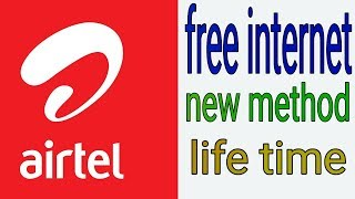 Best free internet trick life time new method