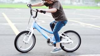 Teach your kid to ride a bike in 9 minutes