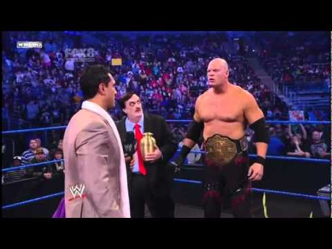 WWE Smackdown! 29/10/10 Alberto Del Rio interrupts Kanes segment and demands a title match HDTV 480p
